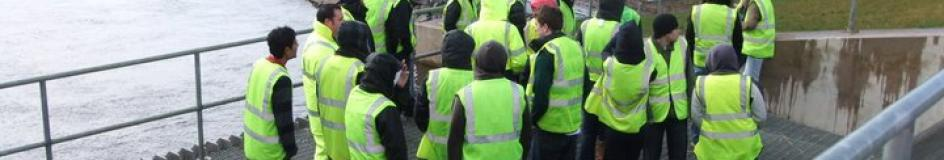 Site Visit to White Cart Flood Defence