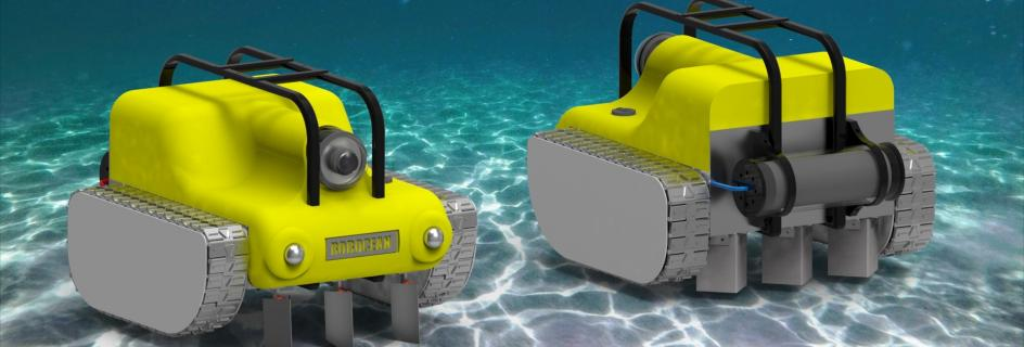 The Robocean team want to mechanise the restoration of environmentally valuable seagrass environments using subsea remote operated vehicles (ROVs)