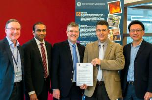 DEM Solution Staff and University of Edinburgh Academics meet to Forge Partnership
