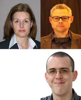 Drs Blanca Antizar-Ladislao, Luke Bisby and Stewart Smith