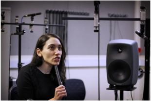 Extracting data from sound in our audio lab (Institute for Digital Communication)