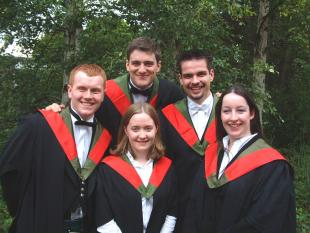 MEng Engineering Graduates, Edinburgh