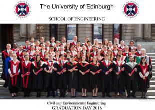 Graduating Civil Engineers 2016