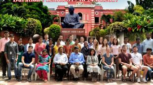 The 2017 Edinburgh group at Anna Univeristy, India