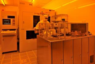 """Nikon wafer stepper and Brewer photoresist coater in the SMC cleanrooms for microsystems fabrication and """"more than Moore"""" post-processing"""