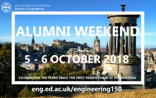 Invitation to Engineering150 Alumni Weekend