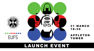 Edinburgh University Formula Student Launch Event poster