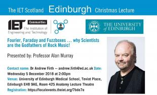 IET Christmas Lecture flyer
