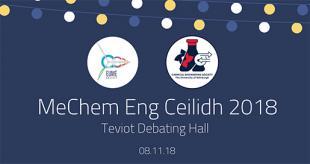 MeChem Eng Ceilidh 2018 poster
