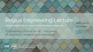 Regius Engineering Lecture