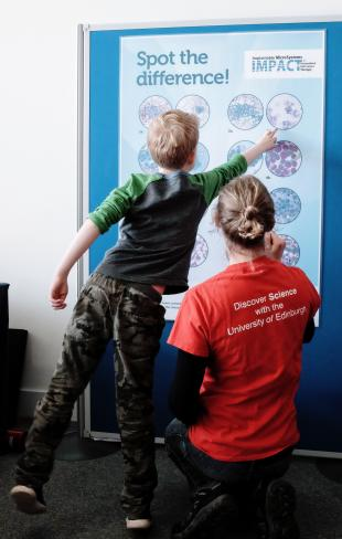 Spot the Difference, engineering at the Edinburgh International Science Festival