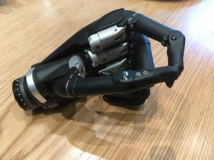 David Gow's bionic hand