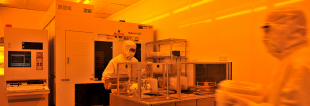 Cleanroom facilities at the Scottish Microelectronics Centre