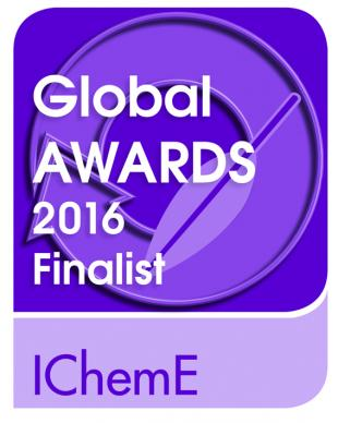 IChemE Global Awards 2016 Finalist logo