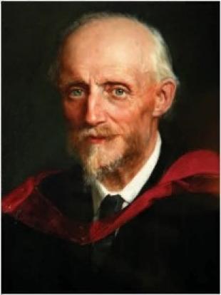 Osborne Reynolds, painted portrait
