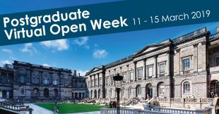 University of Edinburgh Postgraduate Virtual Open Week