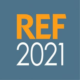 REF2021 Research Excellence Framework logo