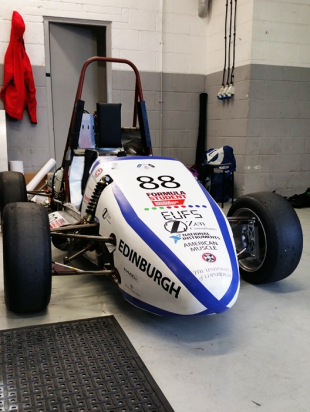 Edinburgh University Formula Student car