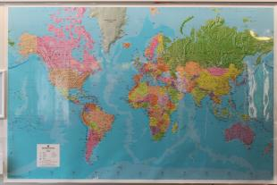 World Map showing the diversity of Students and Staff at the School of Engineering