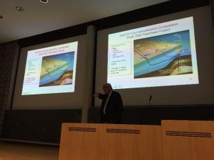 Professor Geoff Maitland speaks at the Chemical Engineering Diamond Jubilee Keynote Seminar