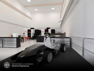 Computer generated representative image of the MakerSpace@Eng