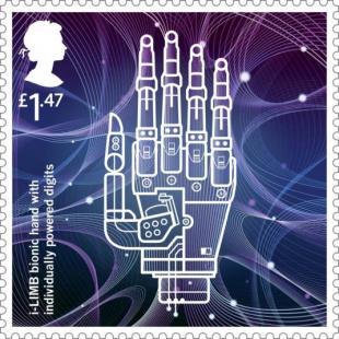 The i-Limb Stamp design