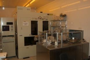 Nikon i-line stepper and CEE photoresist coater systems for sub-micron photolithography on 200mm substrates