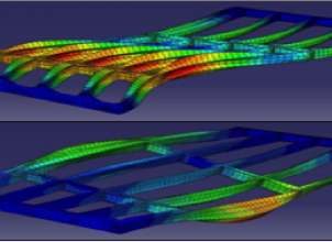 Modal analysis based on vibration measurement.