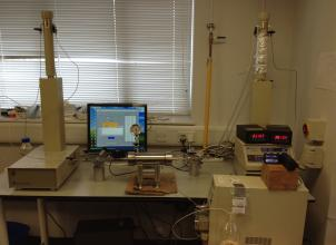 experimental rig for pore scale study