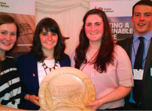 Winners of the TRADA design competition 2014